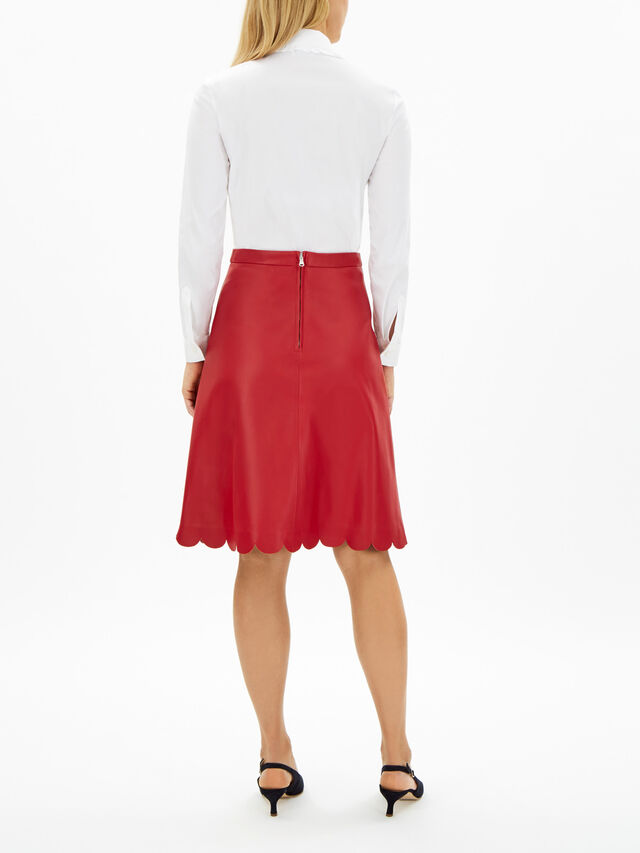 Scallop Hem Skirt