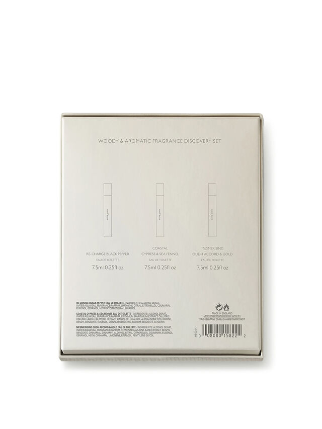 Woody and Aromatic Fragrance Discovery Set