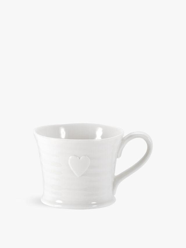 Embossed Heart Mug