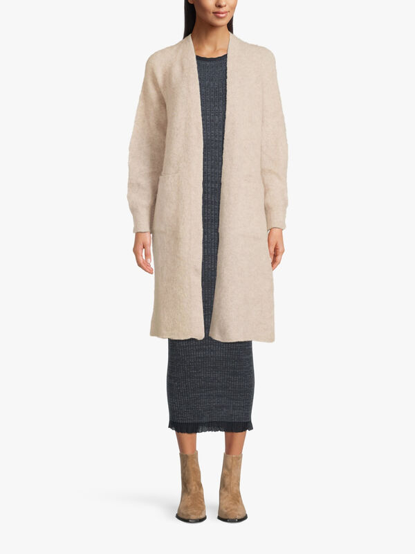 Ionio Belted Mohair Cardigan