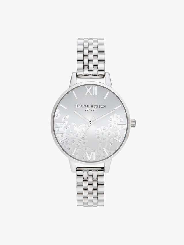 Bejewelled Bracelet Watch