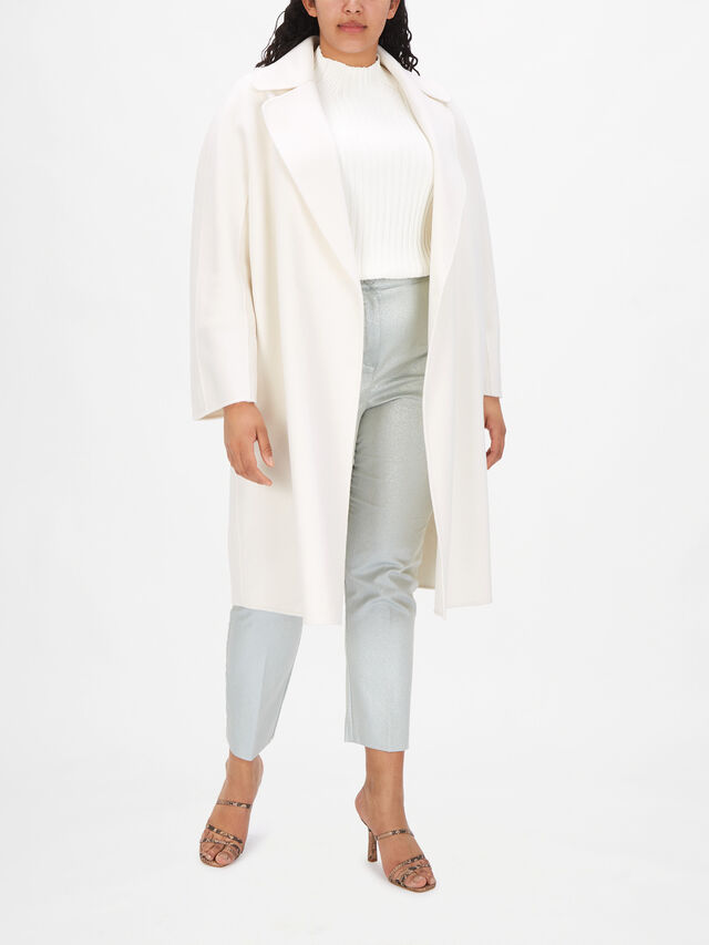 Tabloidbis Oversize Wool Coat