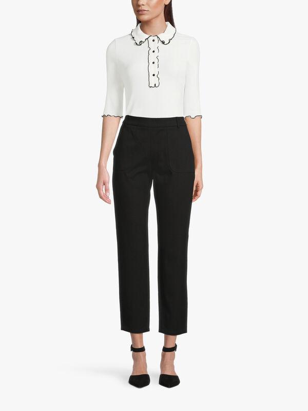 Colmo Stretch Cotton Trouser