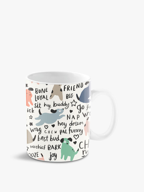 Dog Design Ceramic Mug