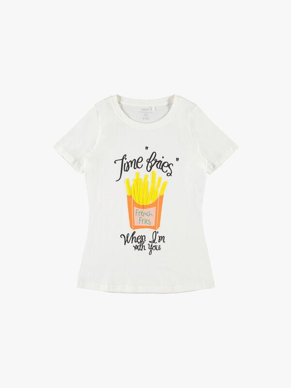 Slogan Printed T-Shirt