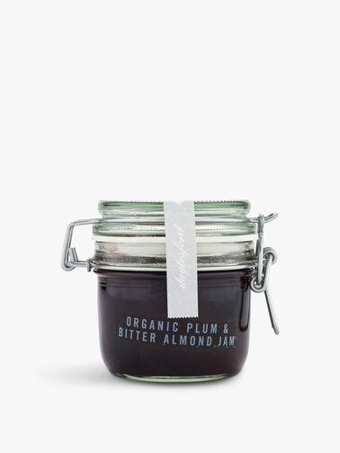 Organic Plum Bitter Almond Jam Kilner 227g