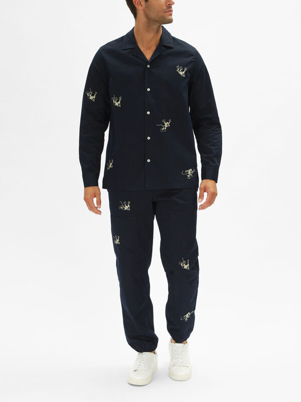 Wood Wood x Disney Anker Overshirt