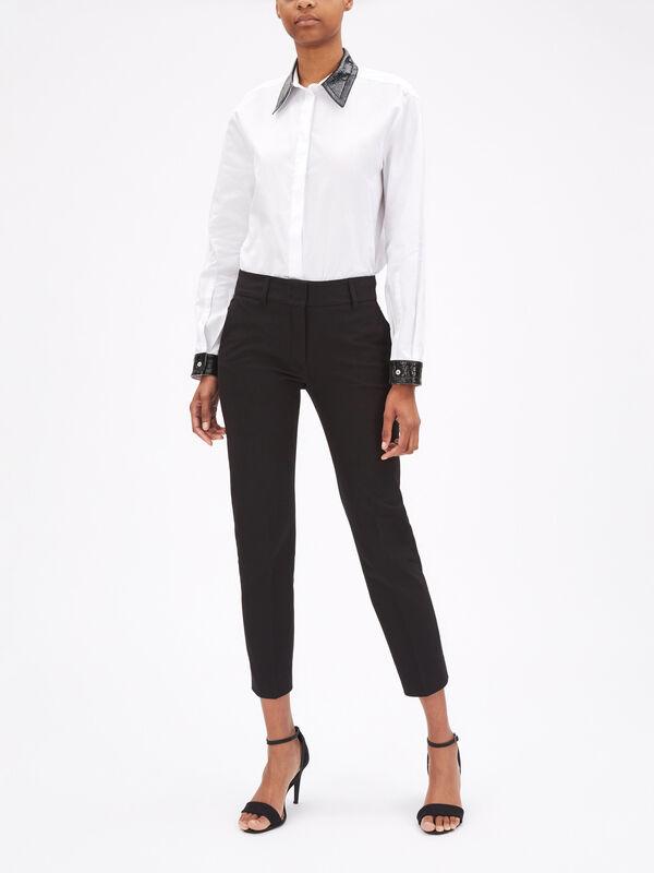 Kim Stretch Cotton Trouser