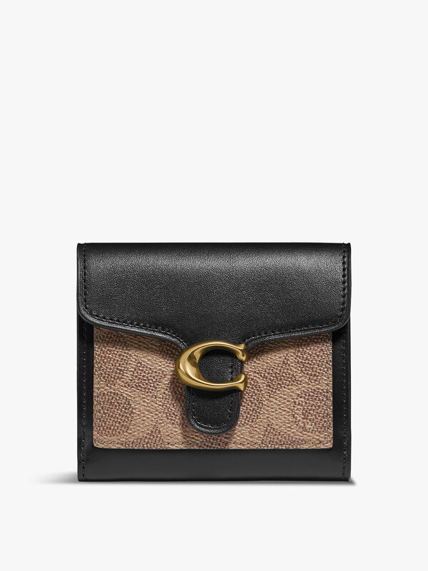 Colorblock Signature Tabby Small Wallet