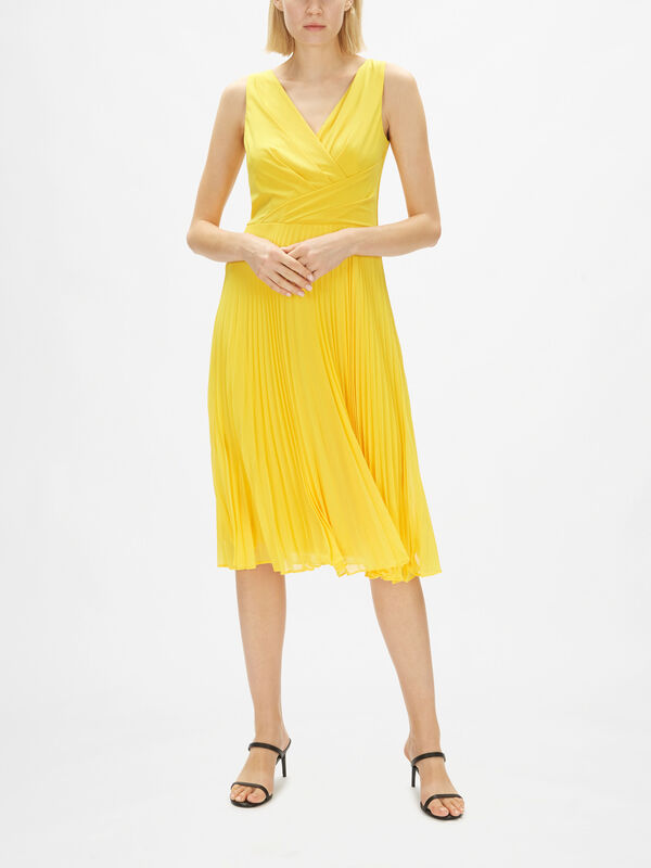Rayella Pleated Midi Dress