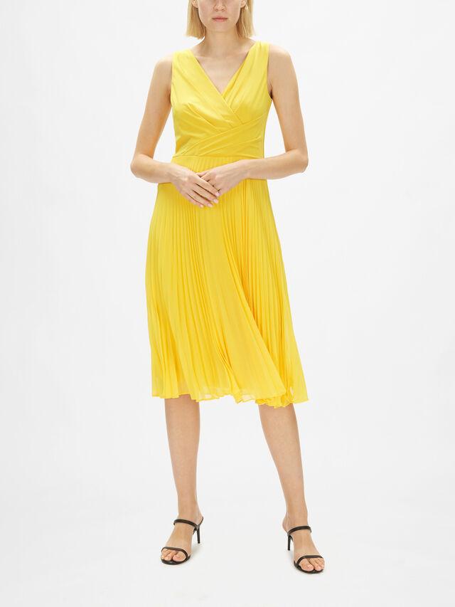 Rayella Pleated Midi Dress