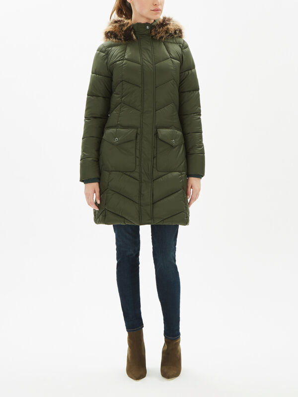 Clam Quilted Jacket