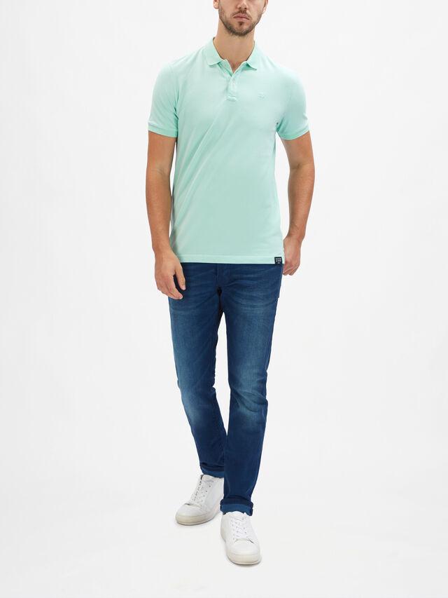 Garment Dyed Stretch Polo