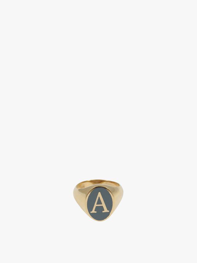 Personalised Chevalier Ring