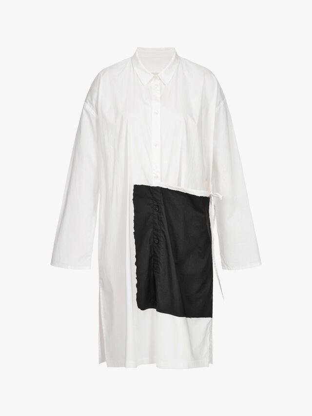 Longline Flap Shirt