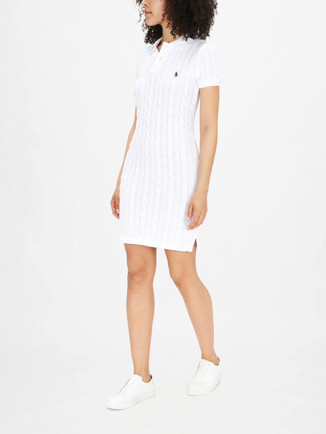 Cable Polo Dress