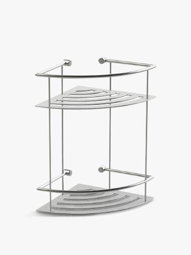 Classic Corner Two Tier Shower Shelf