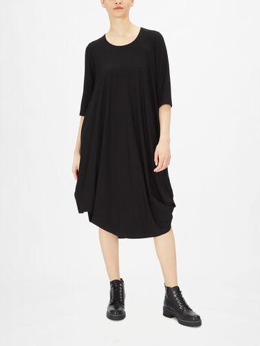 Utas-LS-Bubble-Hem-Maxi-Dress-13034