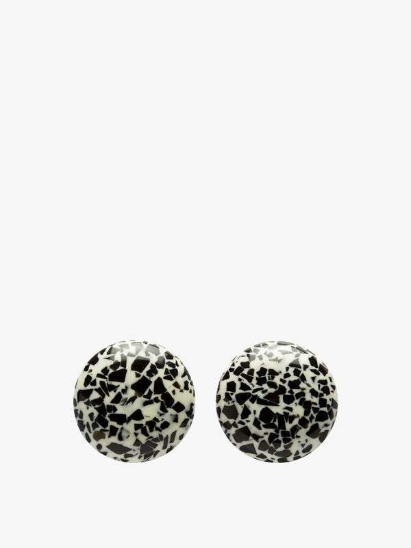 Dotted Stud Earrings