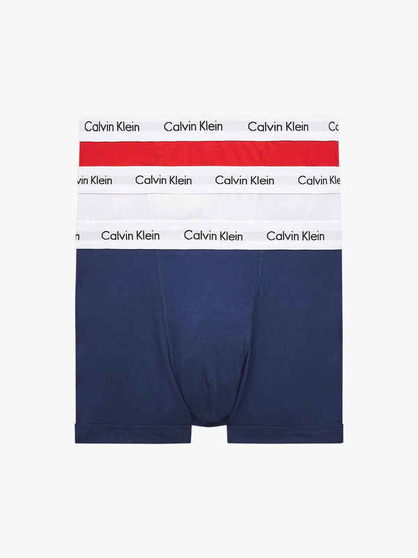 3 Pack Cotton Stretch Trunks