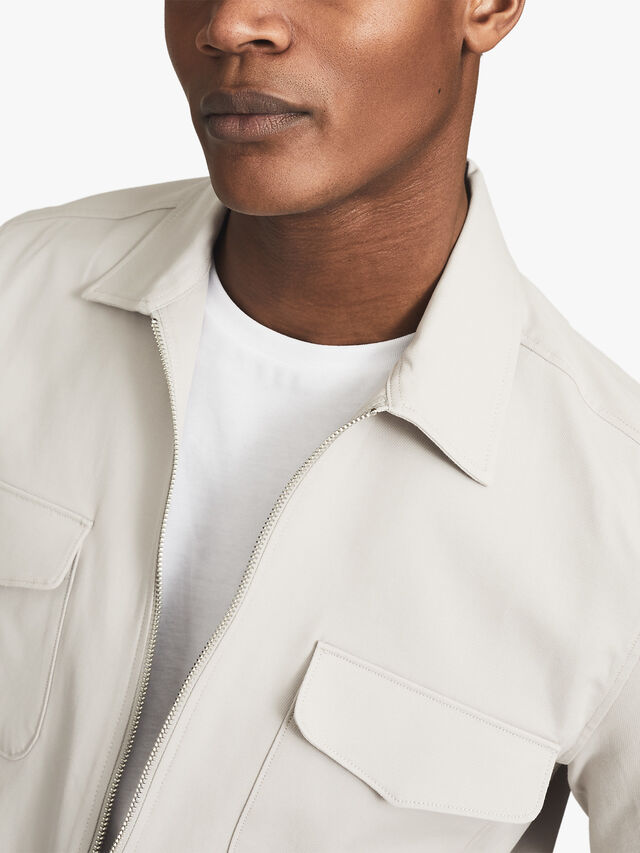 GEMINI Zip Through Overshirt