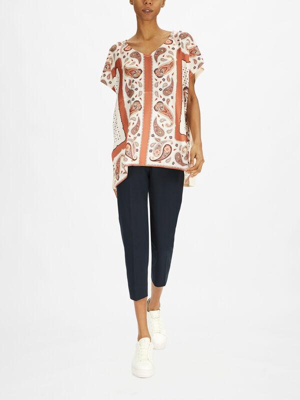 Paisley Oversize T-Shirt