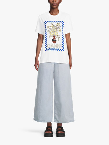 Graphic-Floral-Logo-Tshirt-T2799
