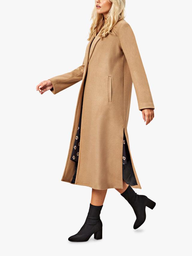 1 Button Long Coat