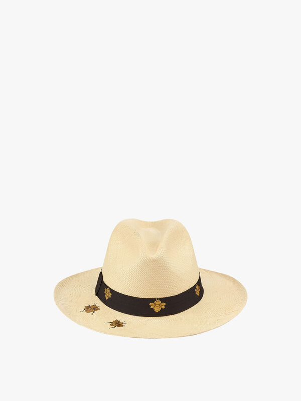 Gold Bees Hat