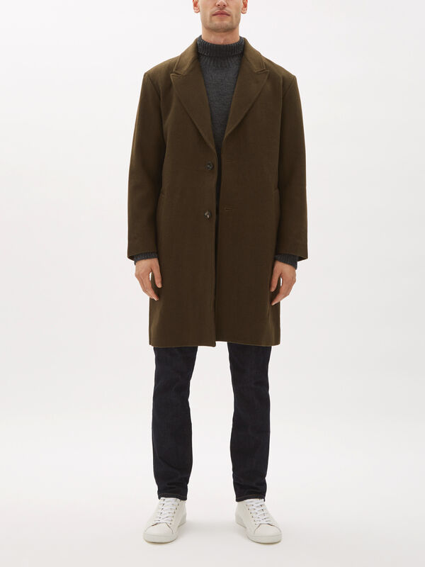 Kawano Wool Overcoat