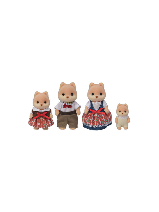 Caramel Dog Family