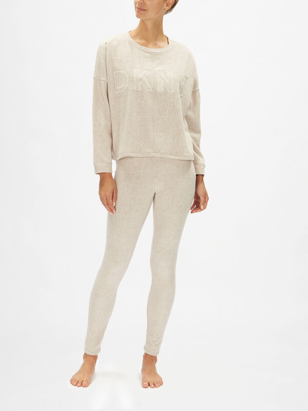 All About Layers Long Sleeve Top & Legging Sleep Set
