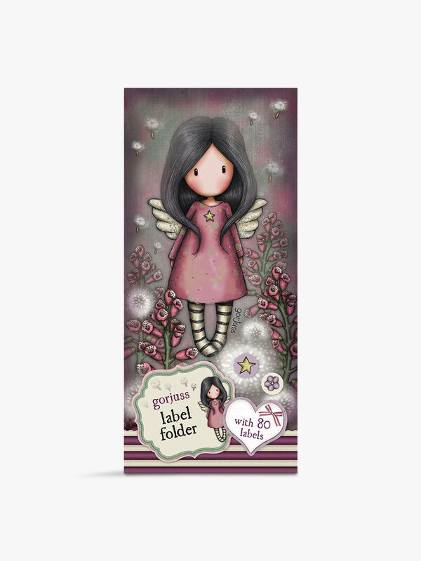 Gorjuss Label Folder Little Wings