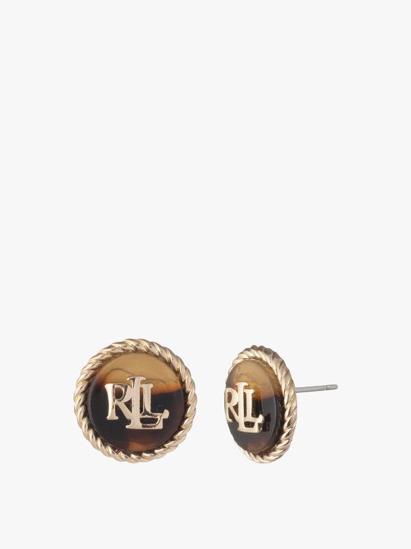 Tort LRL Stud Earrings