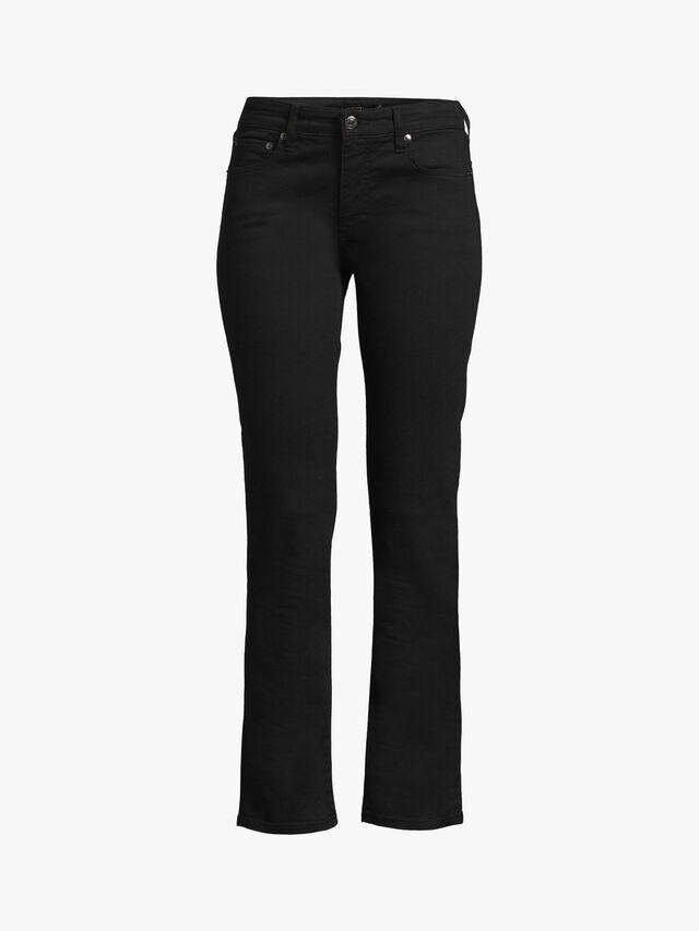 Midrise Straight Leg Jeans