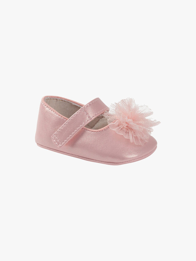 Tulle Flower Shoes
