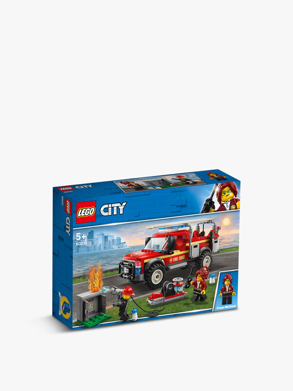 Fire Chief Response Truck