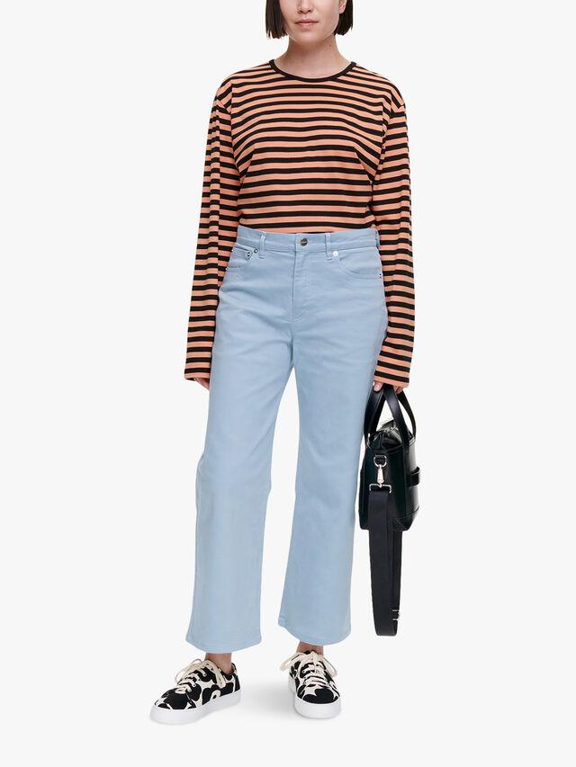 Hopeatäplä Solid Trouser
