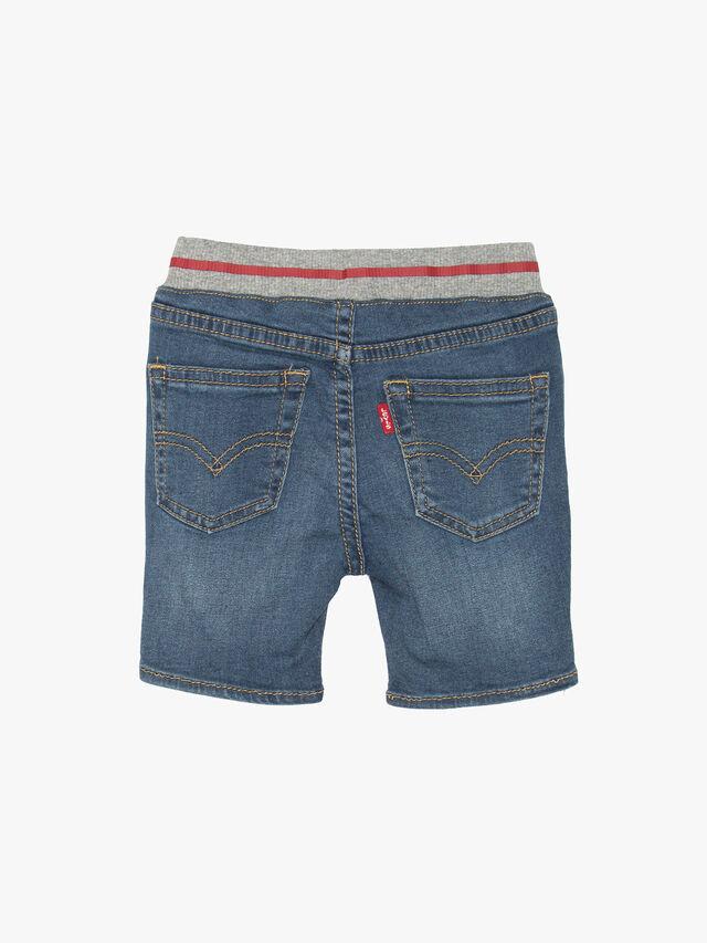 Pull On Rib Shorts