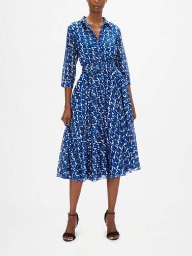 3-4-Sleeve-Midi-Dress-With-Hounds-Dots-Aster
