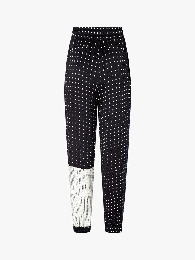 Raoul Patchwork Spotted Trousers