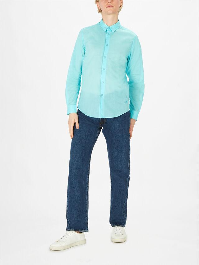 Unisex Cotton Voile Shirt