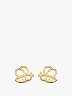 """Honey, Bee Yourself"" Bee Stud Earrings"
