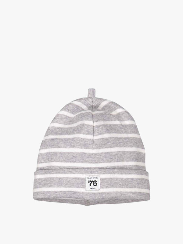 Striped GOTS Organic Baby Hat