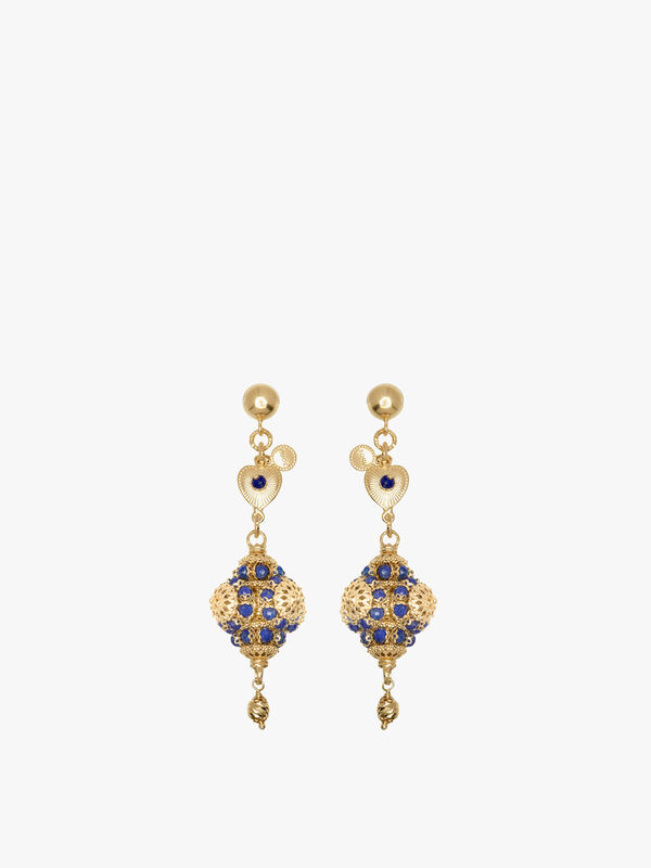 Romantica Lapis Earrings