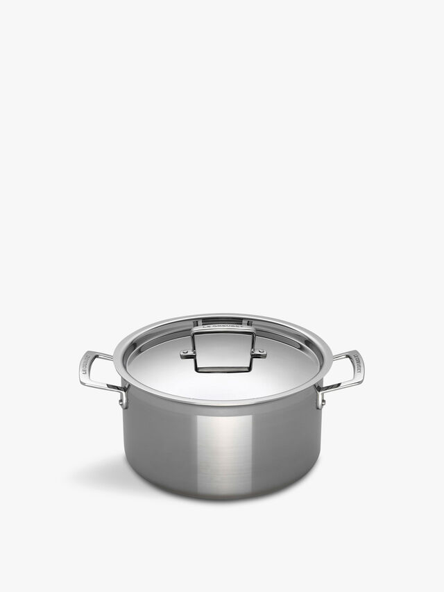 Stainless Steel Deep Casserole Pot 20cm