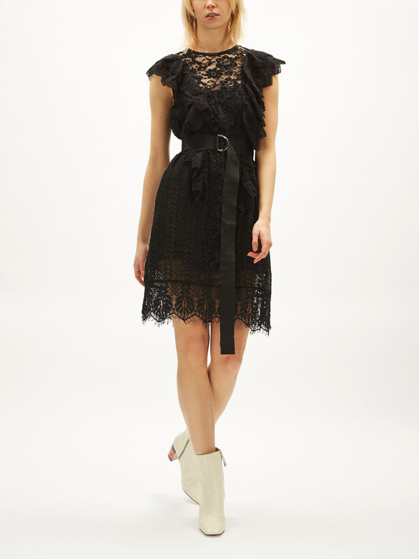 Lace Patchwork Dress