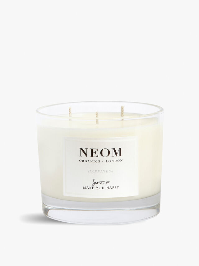 Happiness 3 Wick Scented Candle