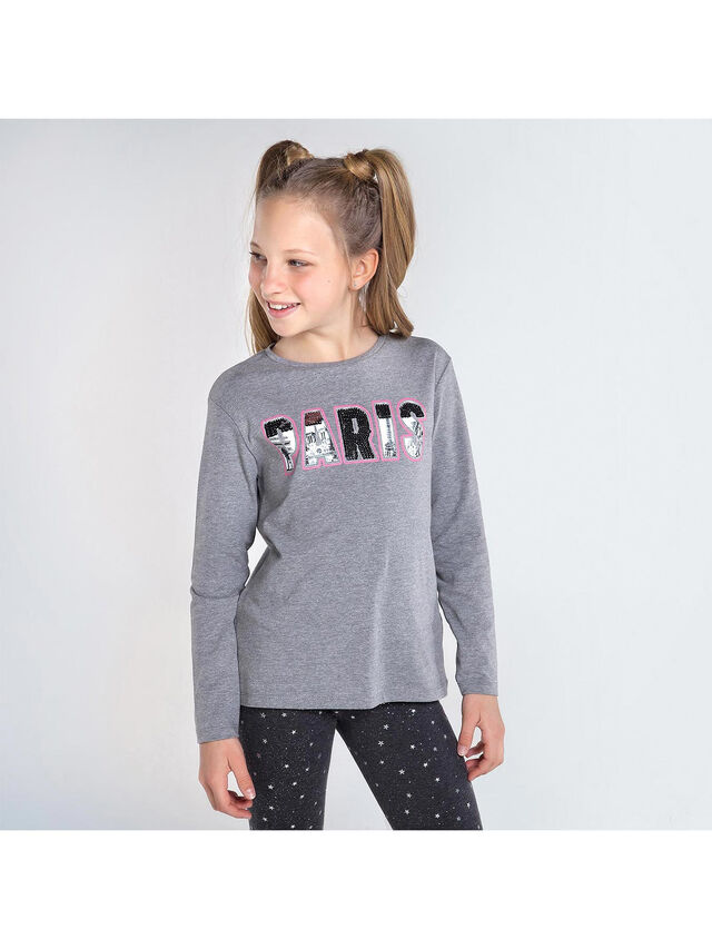 Long Sleeve Paris Top