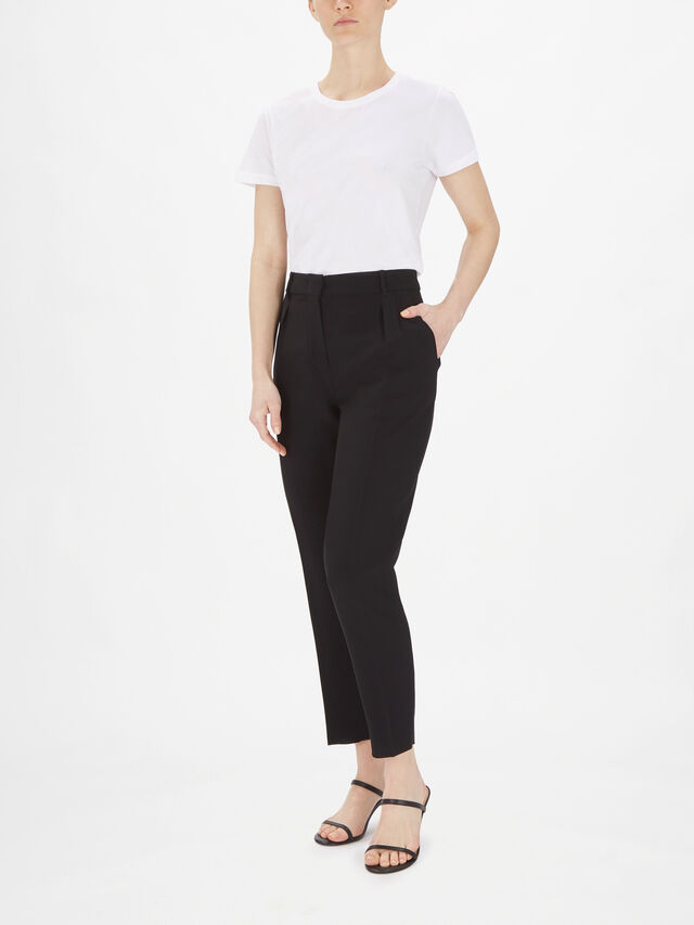 Lamella High Waisted Tapered Trouser